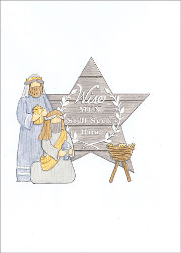 Deb Strain DS1580 - Wise Men Still Seek Him - Holiday, Nativity, Joseph, Mary, Jesus, Star from Penny Lane Publishing