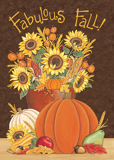 Deb Strain DS1595 - Fabulous Fall               - Autumn, Pumpkins, Sunflowers, Fall from Penny Lane Publishing