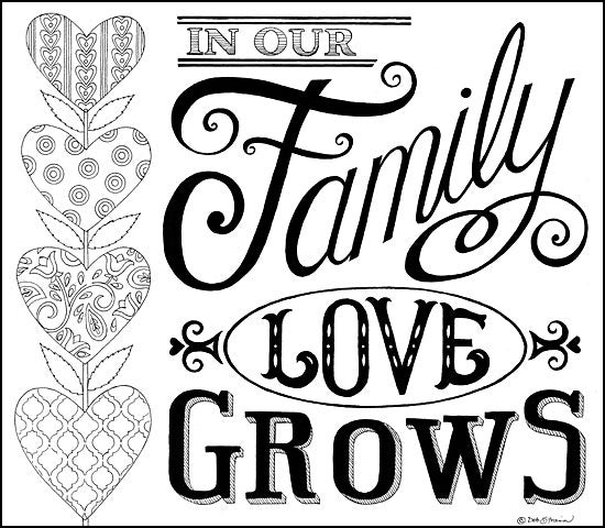 DS1702 - In Our Family Love Grows