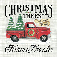 DS1825 - Christmas Trees Farm Fresh - 12x12
