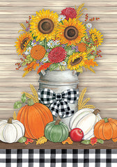 DS1881 - Fall Milk Can - 12x16