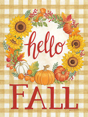 DS1951 - Hello Fall Wreath - 12x16