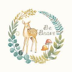 DS1957 - Be Brave Deer - 12x12