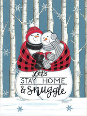 DS1987 - Let's Stay Home & Snuggle - 12x16