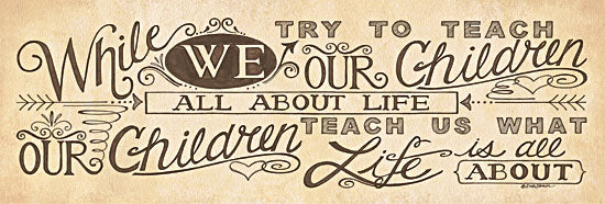 Deb Strain DS911 - What Life is About - Life, Calligraphy, Encouraging from Penny Lane Publishing
