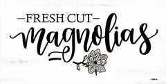 DUST585 - Fresh Cut Magnolias - 18x9