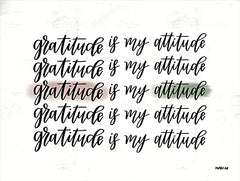 DUST636 - Gratitude is My Attitude   - 16x12