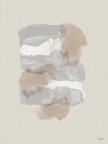 Imperfect Dust DUST668 - DUST668 - Taupe Tranquilly - 12x16 Abstract, Taupe, Paint Strokes from Penny Lane