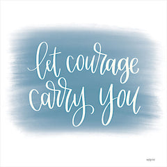 DUST692 - Let Courage Carry You - 12x12