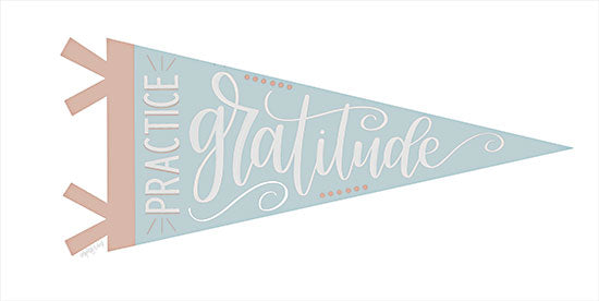 Imperfect Dust DUST734 - DUST734 - Practice Gratitude Pennant - 18x9 Practice Gratitude, Pennant, Tween, Motivational, Signs from Penny Lane