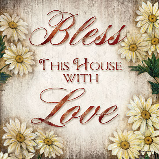 Ed Wargo ED233 - Bless This House - Daisies, Bless, House, Signs from Penny Lane Publishing