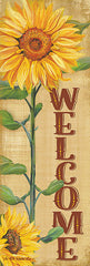 ED399A - Welcome Sunflower - 12x36
