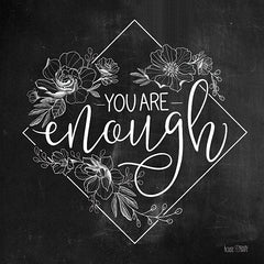 FEN139 - You Are Enough   - 12x12