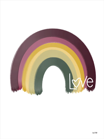 House Fenway FEN154 - FEN154 - Painted Rainbow - 12x16 Love, Rainbow, Nostalgia, Retro from Penny Lane