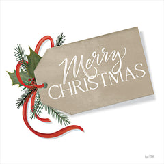 FEN212 - Merry Christmas Gift Tag - 12x12
