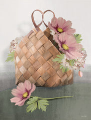 FEN268 - Farmhouse Daisy Basket     - 12x16