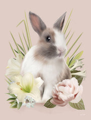 FEN320 - Easter Bunny Floral - 12x16