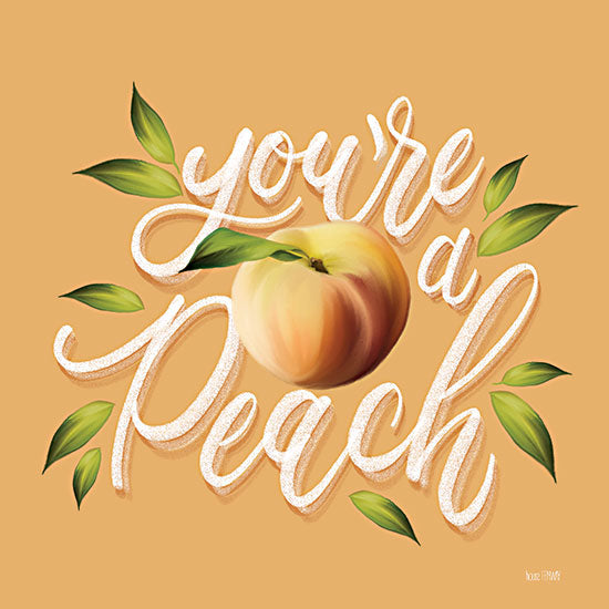 House Fenway FEN379 - FEN379 - You're a Peach - 12x12 You're a Peach, Peach, Love, Signs from Penny Lane