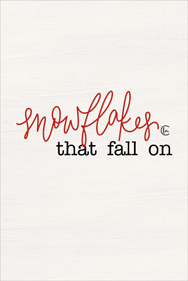Fearfully Made Creations FMC177 - FMC177 - Snowflakes Part I   - 12x18 Snowflakes, Holidays, Winter, Calligraphy, Diptych from Penny Lane