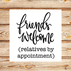 FMC246 - Friends Welcome - 12x12