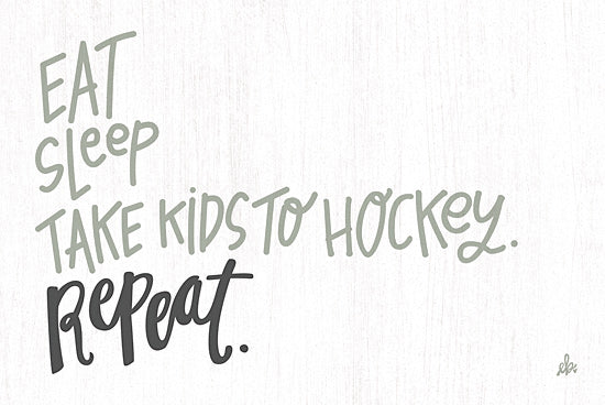 Erin Barrett FTL285 - FTL285 - Take Kids to Hockey   - 18x12 Signs, Typography, Sports, Kids, Children, Rules, Humor from Penny Lane