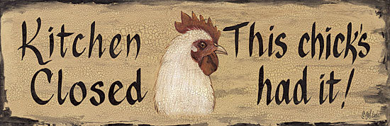 Gail Eads GE196 - Kitchen Closed - Rooster, Kitchen, Signs from Penny Lane Publishing