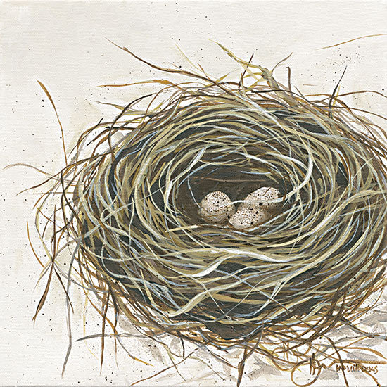 Hollihocks Art HH189 - HH189 - New Life - 12x12 Bird Nest, Eggs, New Life, Birds from Penny Lane