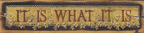 Lisa Hilliker HILL207 - It Is What It Is - Signs, Typography, Flowers from Penny Lane Publishing