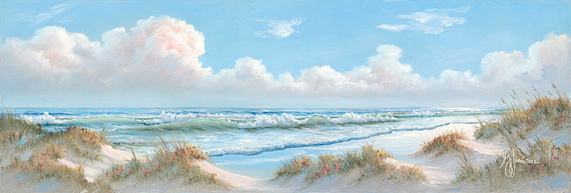 Georgia Janisse JAN222 - Seascape I  - Ocean, Clouds, Sand, Landscape from Penny Lane Publishing