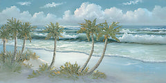 JAN261 - Palm Trees on Coast II - 18x9