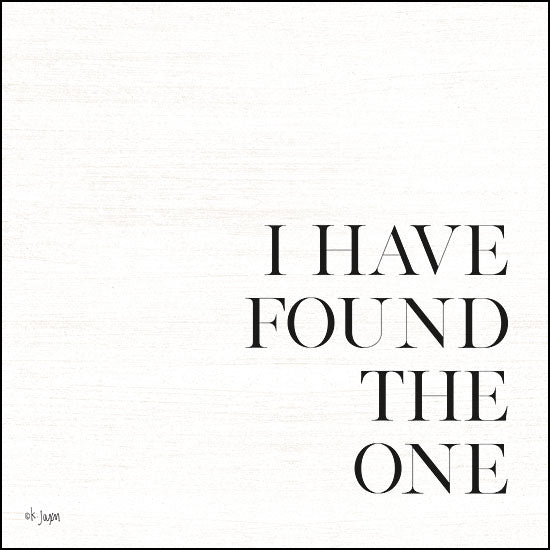 JAXN170 - I Have Found the One - 12x12