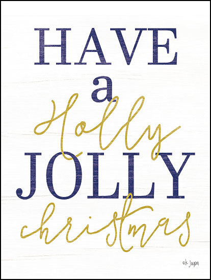 JAXN221 - Holly Jolly Christmas - 12x16
