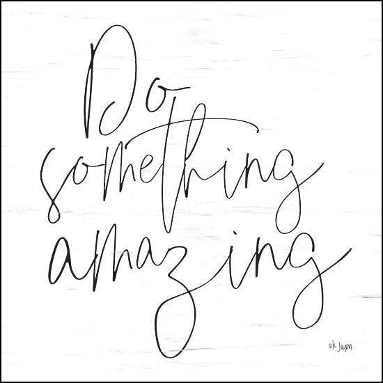 JAXN234 - Do Something Amazing - 12x12
