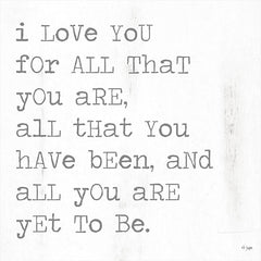 JAXN474A - For All That You Are - 18x18