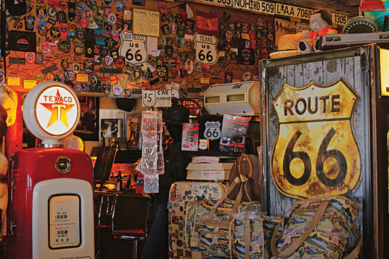 JG Studios JGS323 - JGS323 - Route 66 - 18x12 Route 66, Collectibles, Tin Signs, Signs, Photography, Nostalgia, Retro, Vintage from Penny Lane