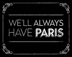 JGS356 - We'll Always Have Paris - 16x12