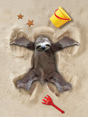 JGS456 - Sand Angel Sloth - 12x16