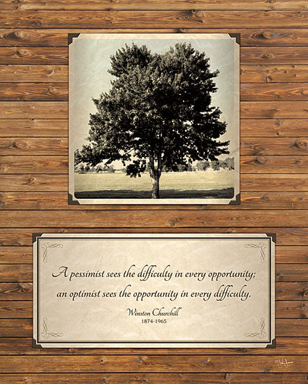 John Jones JJ834 - Opportunity  - Trees, Quote, Inspirational from Penny Lane Publishing