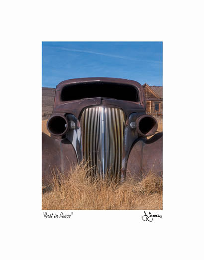 John Jones JJAR160 - Rust in Peace - Truck, Rusty, Field from Penny Lane Publishing