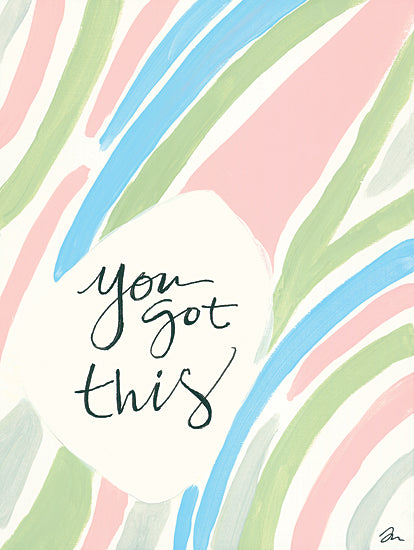 Jessica Mingo JM379 - JM379 - You Got This - 12x16 You Got This, Motivational, Signs from Penny Lane