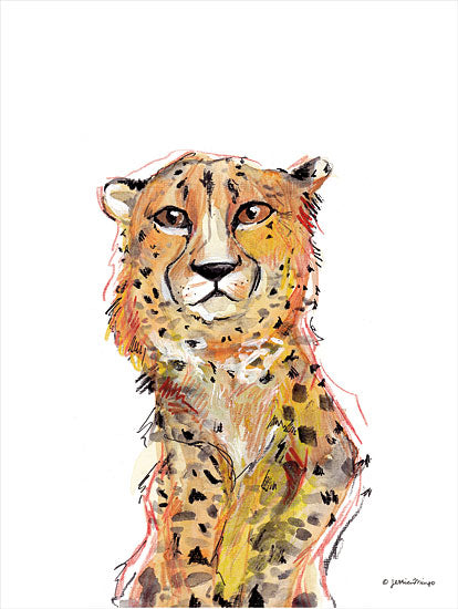 Jessica Mingo JM399 - JM399 - Wild Side - 12x16 Cheetah, Wildlife Abstract from Penny Lane