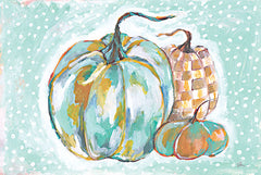 JM466 - Pumpkins in Blue - 18x12
