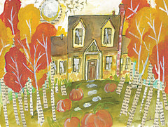 JM467 - Trick or Treat House - 16x12