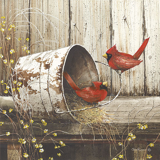 John Rossini JR1513 - Playing Around - Cardinals, Bucket, Nest from Penny Lane Publishing