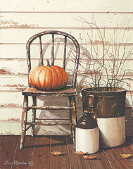 JR347 - Pumpkin & Chair - 12x16