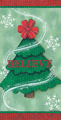 KEN1072 - Believe Stitch Tree - 9x18
