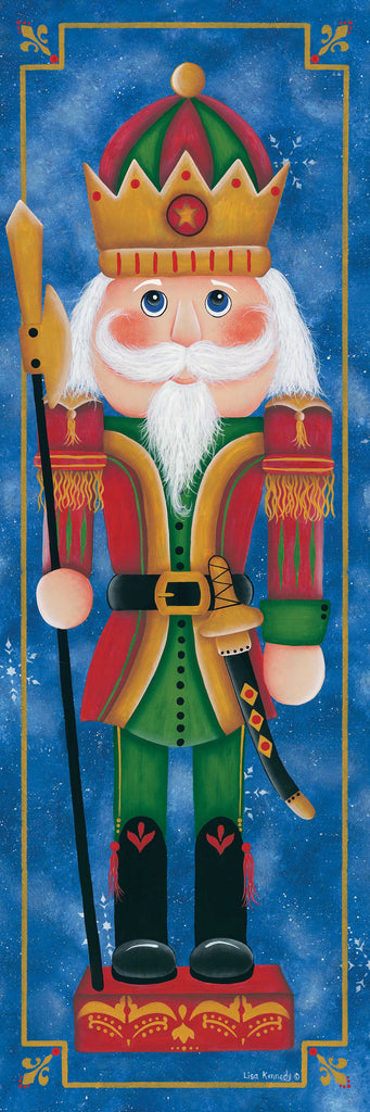 Lisa Kennedy KEN1161A - KEN1161A - Christmas Nutcracker - 12x36 Christmas, Holidays, Solider, Nutcracker, Fantasy from Penny Lane