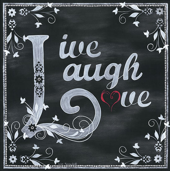 Lisa Kennedy KEN852 - Love - Chalkboard, Signs, Love from Penny Lane Publishing