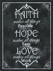 KEN862 - Faith*Hope*Love - 12x16