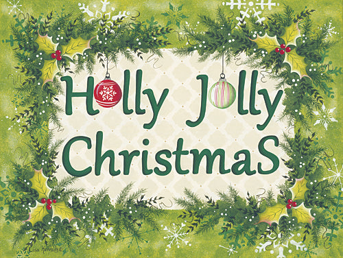Lisa Kennedy KEN925 - Holly Jolly Christmas - Signs, Holiday, Holly, Wreath from Penny Lane Publishing